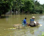 BANGLADESH SIRAJGANJ FLOODS