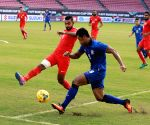 PHILIPPINES-BULACAN PROVINCE-FOOTBALL-AFF SUZUKI CUP-THAILAND VS SINGAPORE