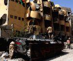 LIBYA SIRTE CONFLICT IS