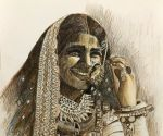 Smiling women from across India