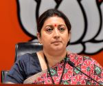 Smriti Irani tests positive for Covid