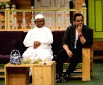 : Mumbai: Promotion of film Anna on the sets of The Kapil Sharma Show