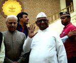 Anna Hazare's press conference