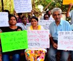 Demonstration against Eknath Khadse