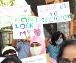 Protest against Karnataka Govt that mulls 'Love Jihad' law