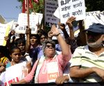 Social activists demonstrate against Dadri lynching