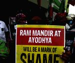 SDPI's protest against construction of RamTemple in Ayodhya
