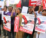 SUCI-C's demonstration against US