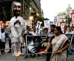 SUCI-C protest against Kuldeep Singh Sengar