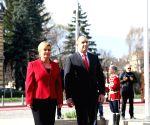BULGARIA SOFIA CROATIA PRESIDENT VISIT