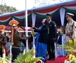 2019 Republic Day - Manipur Governor hoists national flag