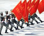 CHINA BEIJING V DAY PARADE TRAINING