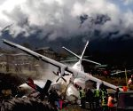 NEPAL SOLUKHUMBU LUKLA AIRPORT AIRCRAFT CRASH