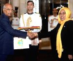 Somali Ambassador Designate presents credentials to President Kovind