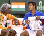 Davis Cup World Group play-off tie - Filip Krajinovic vs Somdev Devvarman