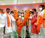 Somu Veerraju takes charge as Andhra BJP President