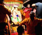 Anant Ambani takes home Ganesh idol