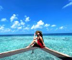 Free Photo: Sonakshi leaves behind a piece of her heart as she leaves Maldives