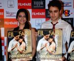 "Sonam Kapoor and Imran Khan at ""Filmfare"" launch."
