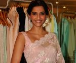 Sonam Kapoor Ahuja looks sultry in a short satin dress