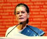 Constitutional values under threat: Sonia Gandhi