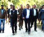 Himanta Biswa Sarma visits Hatijuli area where six people were gunned down