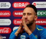 Faf du Plessis' press conference
