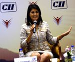 Nikki Haley during a CII conference
