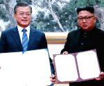 Koreas sign military agreement