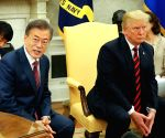 President Moon Jae-in-Trump talks