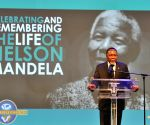 South Africa's Deputy President Kgalema Motlanthe addresses a church service commemorating the life of Nelson Mandela