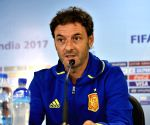 Santiago Denia's press conference