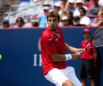 Andy Murray v/s Marcel Granollers during the Montreal Open tennis match