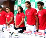 Davis Cup 2016 - press conference - Spain