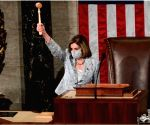 House delivers Trump impeachment article to Senate (Ld)