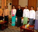 MYANMAR-NAY PYI TAW-U SHWE MANN-AUNG SAN SUU KYI-MEETING