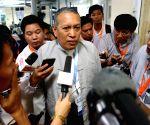 MYANMAR YANGON CEASEFIRE TALKS PRESS CONFERENCE