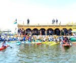 Sports minister inaugurates rowing centre in Srinagar
