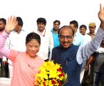 "Vijay Goel inaugurates ""Wall Of Wishes"" and ""Digital Campaign of Wishes"