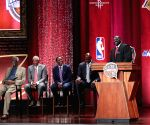U.S SPRINGFIELD BASKETBALL HALL OF FAME ENSHRINEMENT CEREMONY