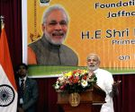 Sri Lanka: Modi lays the foundation stone of Jaffna Cultural Centre