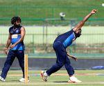 Pallekele (Sri Lanka): Sri Lanka - practice session - Lasith Malinga, Thisara Perera
