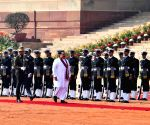 Sri Lankan PM accorded Ceremonial Reception at Rashtrapati Bhavan