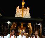Sri Lankan PM visits Venkateswara Temple in Andhra