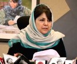 Mehbooba shifted to official residence, detention continues