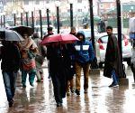 Light rain lashes J&K, nights become warmer