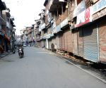 Traders shut shops in Srinagar's Lal Chowk