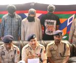Three Hizbul men arrested in Srinagar