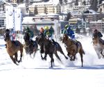 SWITZERLAND-ST. MORITZ-HORSE WINTER RACE