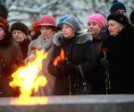 RUSSIA ST. PETERSBURG LENINGRAD BLOCKADE ANNIVERSARY